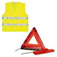 Aide A La Conduite - Securite PLANET LINE Kit gilet PL7248 + triangle de signalisation - ADNAuto