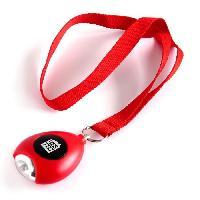 Aide A La Mobilite Alarme personnelle HESTEC - Laniere a placer autour du cou - 4 x 2 x 42 cm