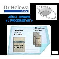 Aide A La Mobilite LCH - Kit Hygiene pour bassin de lit - 4 articles - Aucune