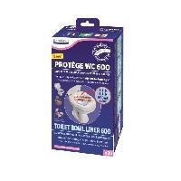 Aide A La Mobilite LCH - Protege WC - boite de 20 sacs absorbtion 600ml Aucune