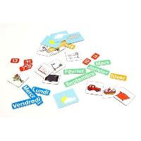 Aimants - Magnets JEUJURA Magnets pour tableau Calendrier - Coffret De 80 Caracteres - Fisher Price PuÉriculture