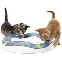 Aire - Tapis De Jeu - Tunnel CAT IT Aire de jeux Speed Circuit avec balle lumineuse - Pour chat