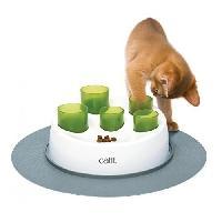 Aire - Tapis De Jeu - Tunnel CAT IT Tubes a croquettes Senses 2.0 - Pour chat