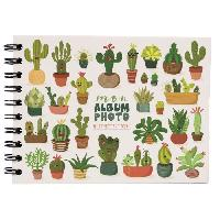 Album - Album Photo Album photo Cactus - 30 pages - Collection Artist - 19 x 13 cm