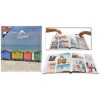 Album - Album Photo Album photo a pochettes - Multisens - 200 photos - 10 x 15 cm - Aucune