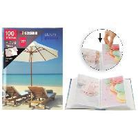 Album - Album Photo Album photo a pochettes rigides - 100 photos - 10 x 15 cm - Imprimé sable - Aucune