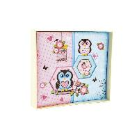 Album - Album Photo Album photos enfant Hibou en carton - 25x22 cm