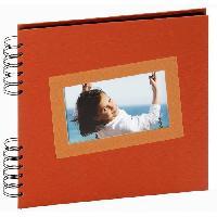 Album - Album Photo Album photos traditionnel Tais 25x23 40p orange