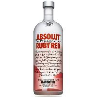 Alcool Absolut Ruby Red  1 litre