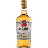 Alcool Bacardi - Anejo 4 - Rhum vieux - 40.0% Vol. - 70 cl