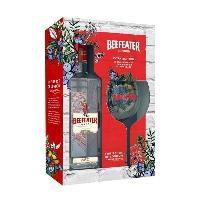 Alcool Beefeater - Gin - 40.0% Vol. - 70 cl - Coffret avec verre