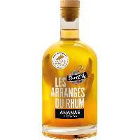 Alcool Breiz'Ile - Les arrangés du rhum - Punch au rhum - Ananas Agrumes - 28.0 % Vol. - 70 cl