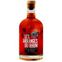 Alcool Breiz'Ile - Les arrangés du rhum - Punch au rhum - Ananas Orange café Shrubb - 28.0 % Vol. - 70 cl