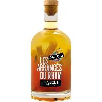 Alcool Breiz'Ile - Les arrangés du rhum - Punch au rhum - Mangue Ananas - 28.0 % Vol. - 70 cl
