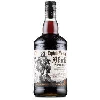 Alcool Captain Morgan - Black Spiced - Rhum épicé - 40.0 % Vol. - 70 cl