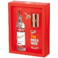 Alcool Coffret Vodka Stolichnaya - The Mule Mug - 40.0% Vol. - 70 cl