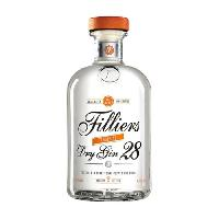 Alcool Gin Filliers Tangerine - 50 cl - 43.7° - Aucune