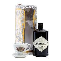 Alcool HENDRICK'S Gin Dreamscapes - 70 cl - 41.4° + 1 tasse de thé - Aucune