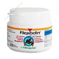 Aliment Pellicule - Comprime Alimentaire FLEXADIN Boîte de 30 comprimés arthrose Vetoquinol - Pour chien et chat - Generique