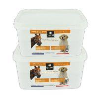 Aliment Pellicule - Comprime Alimentaire Levure de biere pour chiens chats chevaux furets - Seau de 2x 2.5Kg