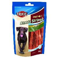 Alimentation - Croquettes 4x TRIXIE PREMIO Omega Stripes poulet 100 g compatible avec chien