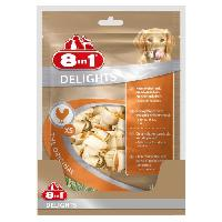 Alimentation - Croquettes 8in1 Delights XS Pack Eco 21 pieces