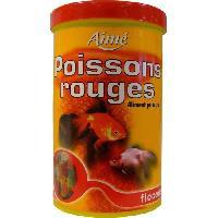 Alimentation - Croquettes AIME Nourriture pour poissons rouges - Aliment complet en flocons - 1 L