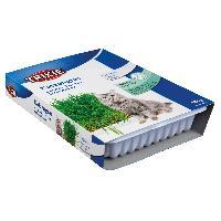 Alimentation - Croquettes Bac d'herbe a chat - bol env. 100g
