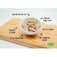 Alimentation - Croquettes KIT CAT Poulet et Thon - Pour chat - Boite de 24 conserves - 80 g Aucune