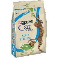 Alimentation - Croquettes PURINA CAT CHOW Croquettes - Avec NaturiumTM - Riche en saumon - Pour chat adulte - 3 kg