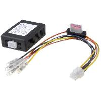 Alimentation 12V - 24V Alimentation 12V 5A Autoradio ideal voiture sans apres-contact ADNAuto