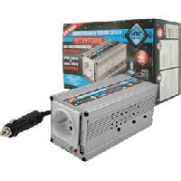 Alimentation 12V - 24V Convertisseur 12-24V auto 220-240V 200W USB 2.1A
