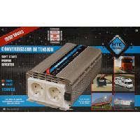 Alimentation 12V - 24V Convertisseur GP Quasi sinus 24220V 1000W Bs USB