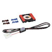 Alimentation 12V - 24V Kit Installation Chargeur Induction - 12V - sans led - 69 x 79 x 14 mm