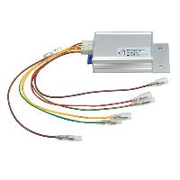 Alimentation 12V - 24V Stabilisateur de tension compatible avec borne 15 et 30