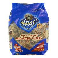 Alimentation 4PAT' - Croquettes et pates de viande - Pour les chiens - 4kg