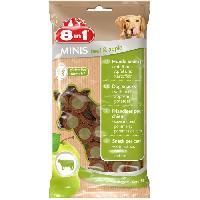 Alimentation 8in1 Minis Beef et Apple 100gr pour chien