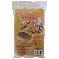 Alimentation AIME Friandise genoises aux cereales - Pour lapins et rongeurs - 70 g -x1-