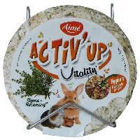 Alimentation AIME Friandises au riz souffle. thym et romarin - Pour lapins et rongeurs - 100 g -x1-