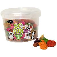 Alimentation AIME Friandises crumble cake - Pour lapins et rongeurs - 150 g -x1-