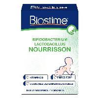 Alimentation Infantile BIOSTIME Ferment lactique en poudre - Pour nourrisson - Boîte de 14 sachets