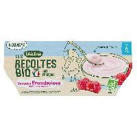 Alimentation Infantile BLEDINA - BIO Brassés framboise 4x100g