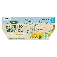 Alimentation Infantile BLEDINA - BIO Brassés mangue 4x100g
