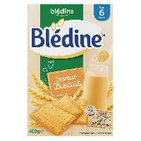 Alimentation Infantile BLEDINA - Blédine Saveur biscuit 400g