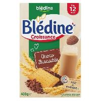 Alimentation Infantile BLEDINA - Blédine croissance Chocolat biscuit 400g