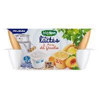 Alimentation Infantile BLEDINA - Mini lactes fruits du verger 12x55g