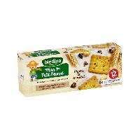 Alimentation Infantile BLEDINA Biscuit Bebe Petit Beurre Pepites de Chocolat 133 gr 12 Mois +