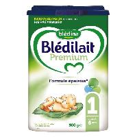 Alimentation Infantile BLEDINA Blédilait Premium Lait en poudre - 1er âge jusqu'a 6 mois - 900 g - Bledilait