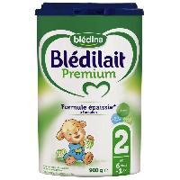 Alimentation Infantile BLEDINA Blédilait Premium Lait en poudre - 2eme âge de 6 a 12 mois - 900 g - Bledilait