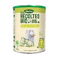 Alimentation Infantile BLEDINA Les recoltes Bio - Lait pour nourrissons 1er age 800g